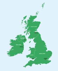 Großbritannien, Irland
