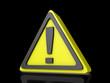 Caution Idea Icon Dark BG