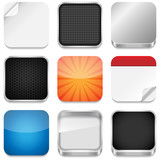 Fototapety App Icon Templates