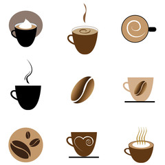 Coffee Symbol Set