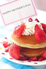 母の日のパンケーキ