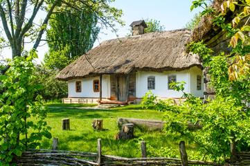 A typical ukrainian antique house