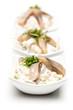 3 Schalen Matjessalat