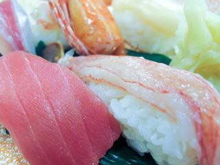 海鮮/マグロ・蟹(蟹足)/和食(お寿司)