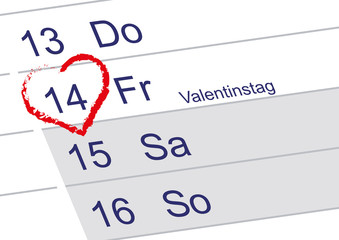 Valentinstag 2014
