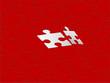 Puzzle Hintergrund rot