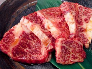 最高級ハラミ肉/和牛/焼き肉用スライス