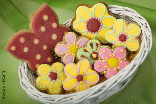 Easter traditional Gingerbread cookies