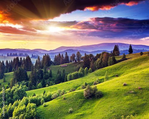 mountains landscape - 50023391