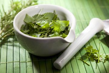 Herbal Medicine Still life