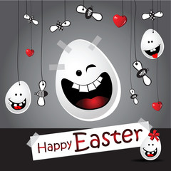 Happy easter smile