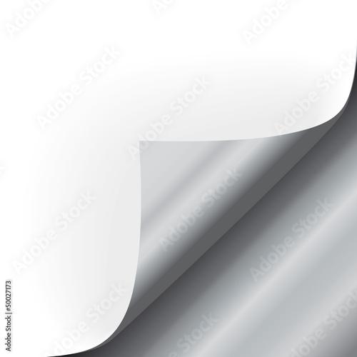 Ecke unten Silber