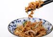 納豆、箸を持ったイメージ