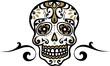 Mexikanischer Totenschädel - mexican skull