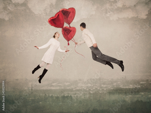 The love helps to fly up