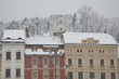 Snow covered Brasov, Transylvania