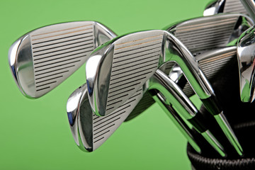 golf club closeup
