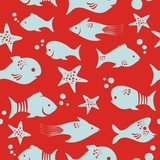 Seamless Fish Pattern