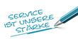 Fineliner Service Stärke