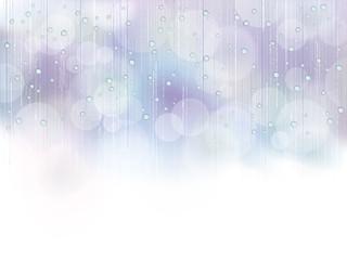 ブルー_雨
