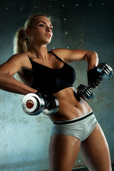 Dumbbells exercises