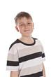 Happy teen boy smiling