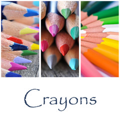 composition crayons