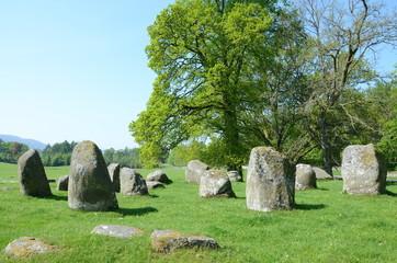 Croft Moraig stone circle, near Loch Tay in Perthshire