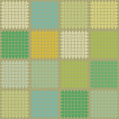 seamless background of a patchwork quilt