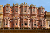 Travel India: facade of wind palace in Jaipur, Rajasthan