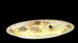 Stop motion Dressed herring salad  (herring under a fur coat)