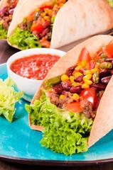 Taco sandwich