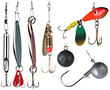 Fishing baits.