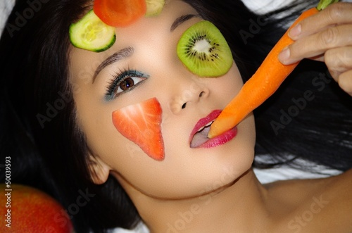 Soin Visage - Masque de Fruits & Légumes