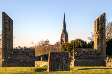 Ancient Sculpture in Perth Scotland