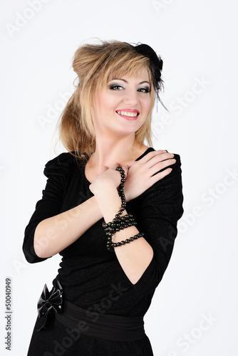 slim smiling woman