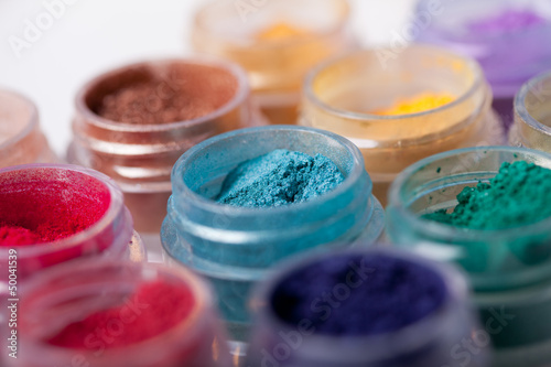 colorful mineral eyeshadows