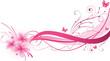 Plumeria pink florals design