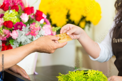 cashless - Flower purchase with credit card