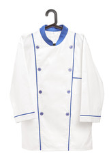 Male chef uniform on a hanger