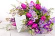 Grüße von Herzen zu Geburtstag, Valentinstag, Verlobung ...