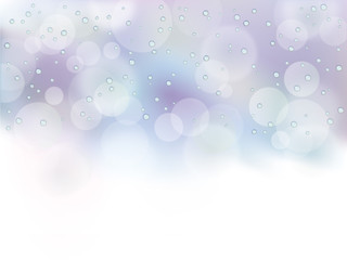 ブルー_水滴
