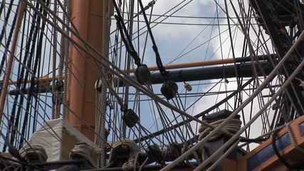 HMS Victory ship back zoom to full view
