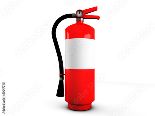 3d fire extinguisher