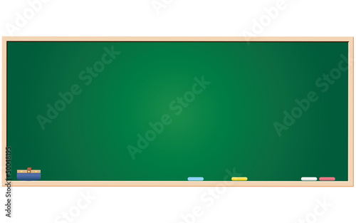 green blackboard blank