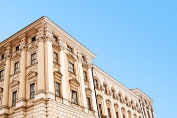 Cherninsky palace in Prague, Czech Republic