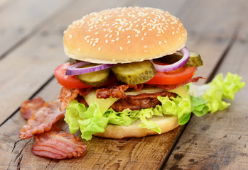 Bacon, deftig