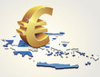 L'Euro en Grèce (reflet)
