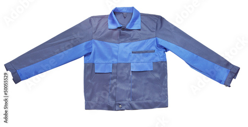 Working Jacket Isolated On White Background