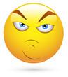 Smiley Vector Illustration - Attitude Face
